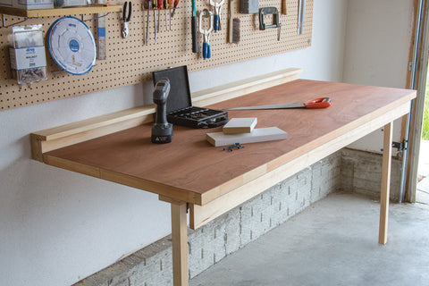 Folding Bench Work Table