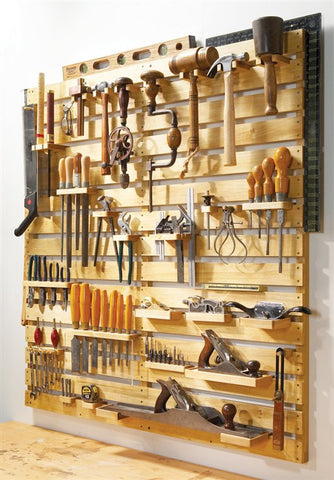 """Hold Everything"" Tool Rack"