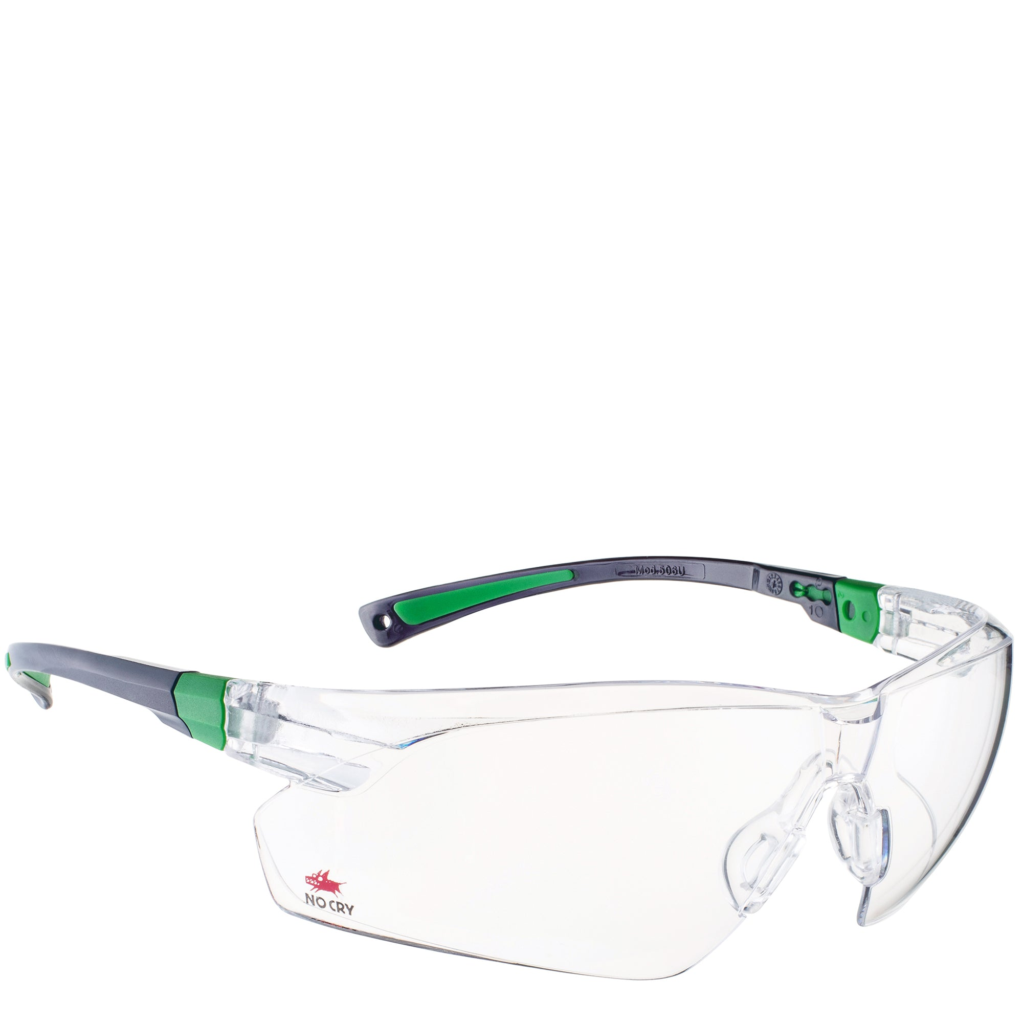 NoCry Clear Safety Glasses