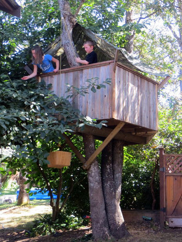 Instructables Makendo Tree House
