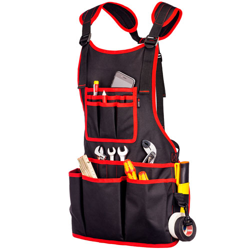 NoCry Work Apron with 26 Pockets