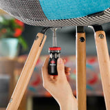 NoCry 12-in-1 Stubby Ratcheting Screwdriver for assembling and fixing chairs and furniture