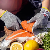 NoCry Cut Resistant Gloves For Kids for filleting salmon fish