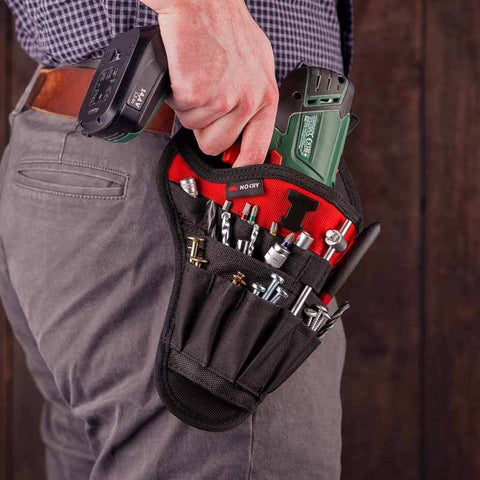 NoCry Drill Holster for homeowners and home DIYers