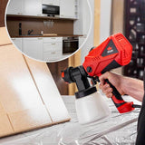 NoCry Electric Paint Sprayer for painting kitchen cabinets