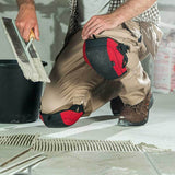 NoCry Flooring & Roofing Knee Pads for indoor construction work