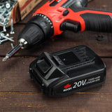 Li-Ion Batteries for NoCry 20V Cordless Tools