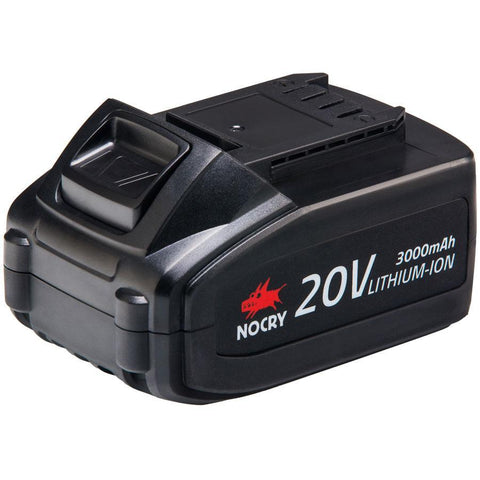 NoCry Li-Ion Batteries for NoCry 20V Cordless Tools