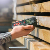 NoCry Moisture Meter for measuring lumber humidity