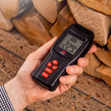 NoCry Moisture Meter for measuring firewood humidity