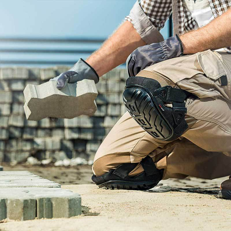 NoCry Professional Knee Pads for outdoor construction work