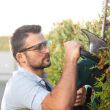 NoCry Over-Glasses Safety Glasses for trimming hedge and grass