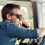 NoCry Over-Glasses Safety Sunglasses for truck and tractor driving