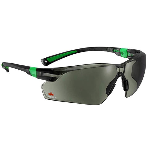 NoCry Scratch Resistant Safety Sunglasses black & green frames