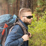 NoCry Safety Sunglasses for hiking and camping