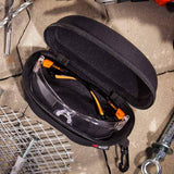 Storage Case For Safety Glasses with protective semi-hard shell