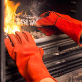 NoCry Welding & BBQ Gloves for wood-stoves and fireplaces