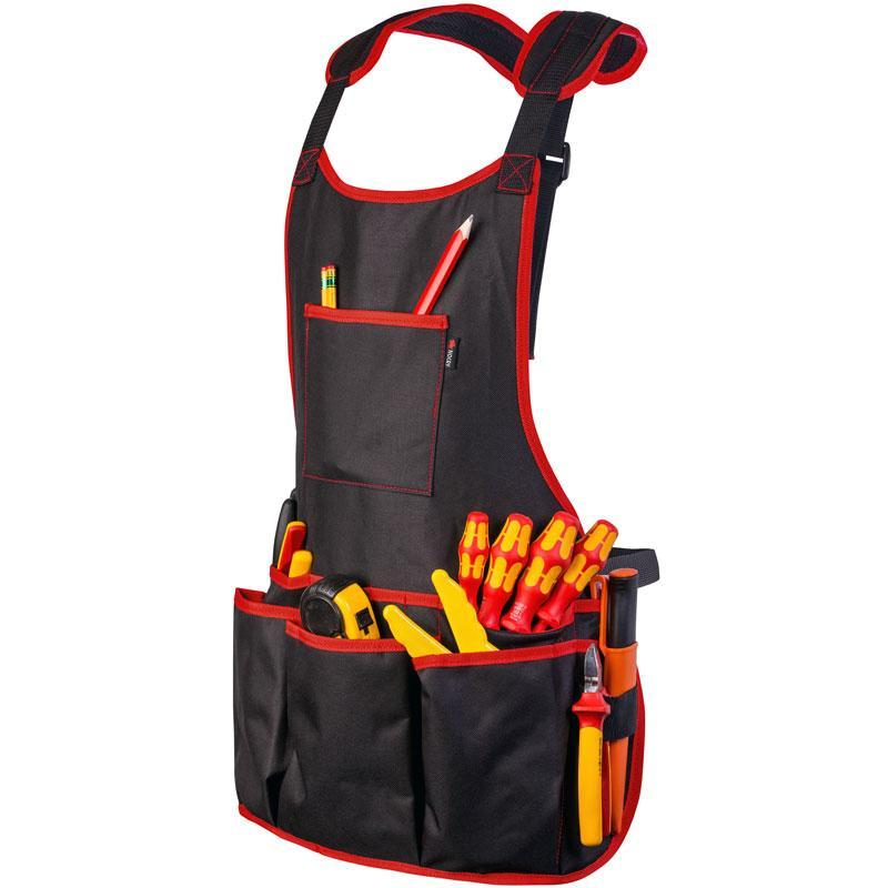 NoCry Work Apron With 16 Tool Pockets