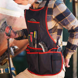NoCry Work Apron With 16 Tool Pockets for machinists