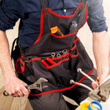 NoCry Work Apron With 16 Tool Pockets for plumbers