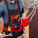 NoCry Work Apron With 26 Tool Pockets for plumbers