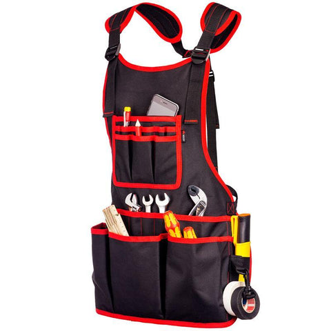 NoCry Work Apron With 26 Tool Pockets