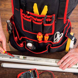 NoCry Work Apron With 26 Tool Pockets for electricians and electric work