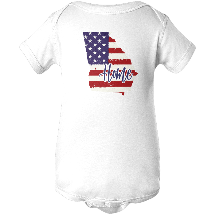 Georgia Home Apparels BABY/INFANT ONESIE White NB