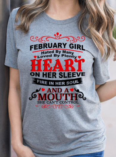 February Girl Budget Apparel Standard Fit S