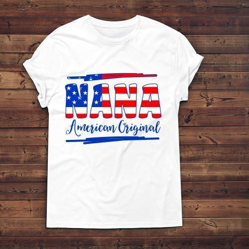 American Original Apparels Adult T-Shirt White S