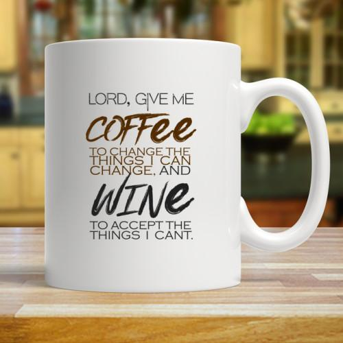 Lord Give Me Mugs Mug White 11oz