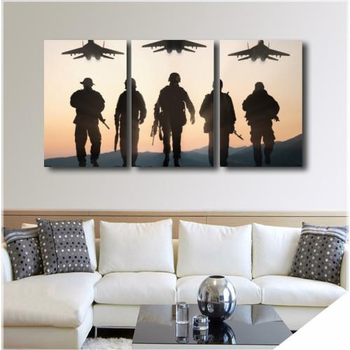 "Air Force WallArts 3-Panel 36"" x 16"""