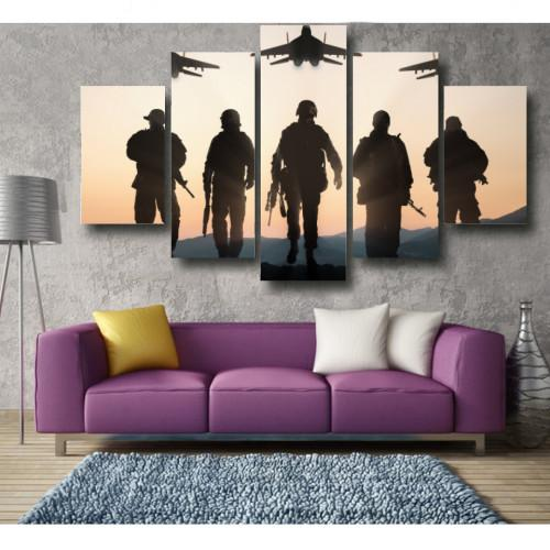"Air Force WallArts 5-Panel 60"" x 36"""