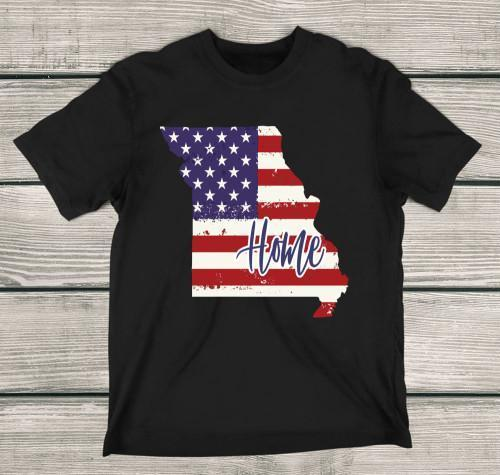 Missouri Home Apparels Kids T-Shirt Black XS