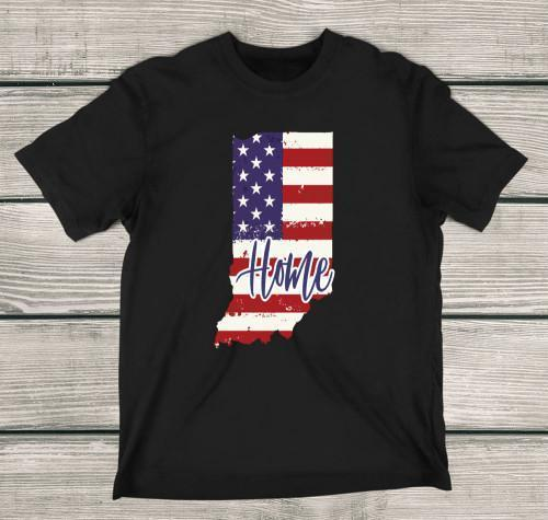 Indiana Home Apparels Adult T-Shirt Black S
