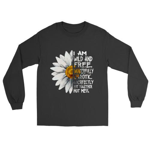 I am wild and free Apparel Long-Sleeve T-Shirt S