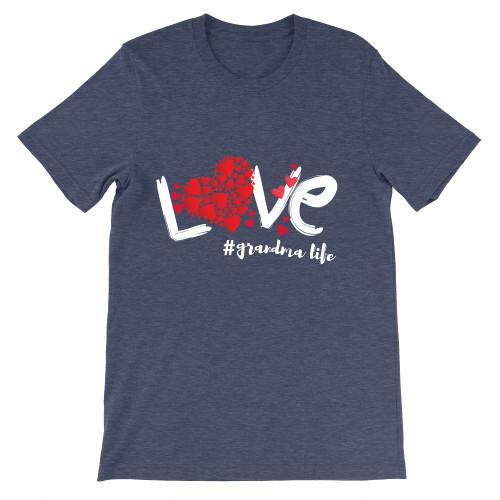 Adult T-Shirt Apparel Adult T-Shirt Heather Navy S