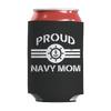 Limited Edition - Proud Navy Mom Can Wraps Can Wraps Black