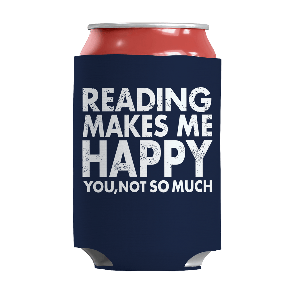 Limited Edition - Reading Makes Me Happy You, Not So Much Can Wraps Can Wraps Navy