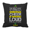Limited Edition - Christmas Cheer Pillow Cases Pillow Cases Black