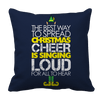 Limited Edition - Christmas Cheer Pillow Cases Pillow Cases Navy