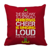 Limited Edition - Christmas Cheer Pillow Cases Pillow Cases Red
