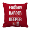 Limited Edition - POLICEMEN Like It Harder Faster Deeper CPR Saves Lives Pillow Cases Pillow Cases Red