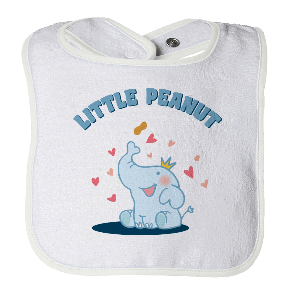 Little Peanut -1 Bibs Bibs White O/S