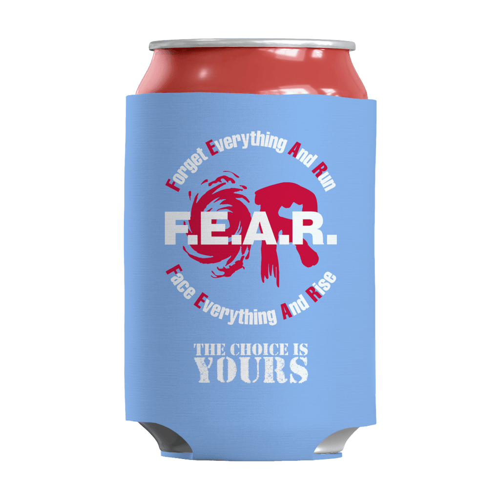 FEAR Can Wraps Can Wraps Light Blue