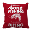 Gone Fishing Pillow Cases Pillow Cases Red