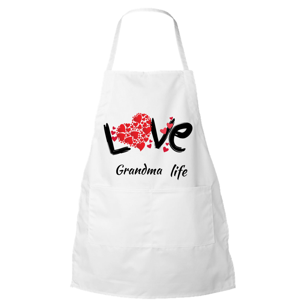 Love Grandma Life Apron - Custom Edition Apron Default Title