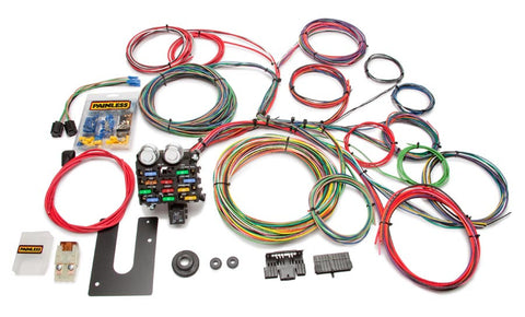 10102 - Classic Customizable Chassis Harness - Key In Dash - 21 Circuits