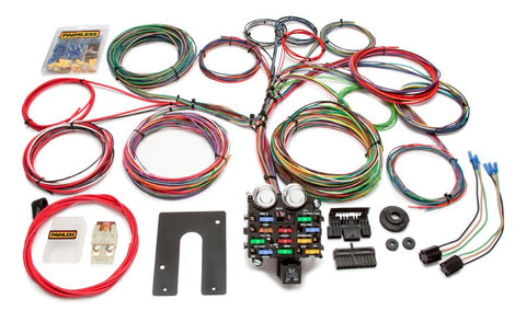 10104 - Classic Customizable Pickup Chassis Harness - Key In Dash - 21 Circuits
