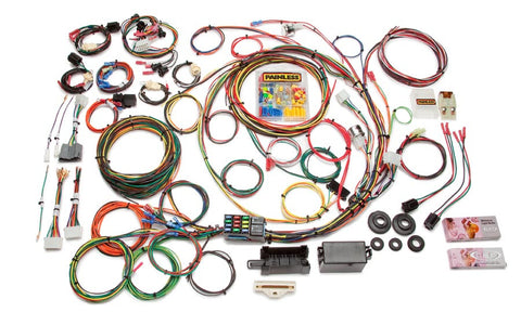 10117 - Direct Fit F-Series Ford Truck Harness w/o Switches (1967-1977) - 21 Circuits